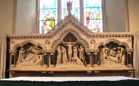 Batheaston marble reredos copy