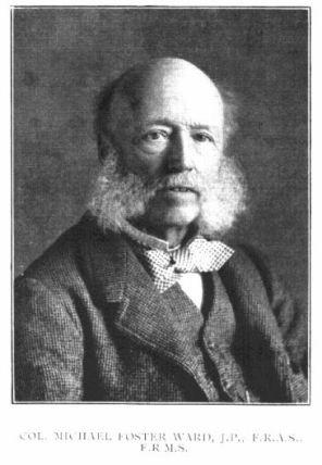 Michael Foster Ward 1826-1915